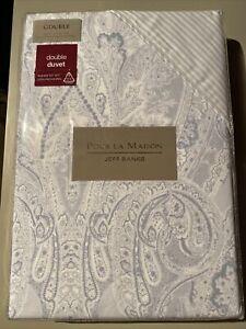 Jeff Banks Pour La Maison Toulouse Double Duvet Cover Set 100% Cotton