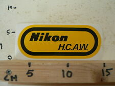 STICKER,DECAL NIKON LOGO H.C.A.W.  CAMERA PHOTO FOTO ? A