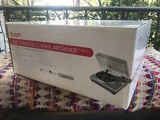 ION - Audio TTUSB10 - USB Turntable/ Vinyl Archiver - NEW IN BOX!