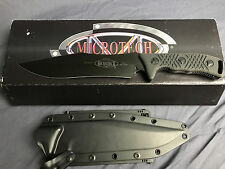 """MICROTECH Arbiter Fixed Blade 9"""" G-10 Scales MILITARY COMBAT SURVIVAL KNIFE"""