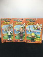 1992 Justoys Bend-Ems The Jetsons George, Jane & Elroy Jetson Figures.