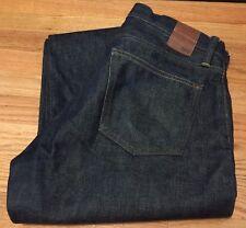 Vintage GAP 1969 Redline Single Stitch Rigid Indigo Denim Jean. Size 32x31