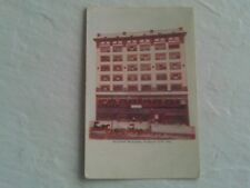 1908 POSTCARD SHUKERT NATIONAL CASH REGISTER & OUTFITTER STORE FRONT KANSAS CITY