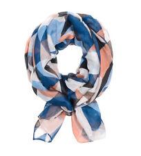 Bufandas y pañuelos de mujer pashminas color principal azul