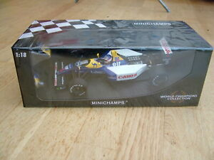 Minichamps Williams FW14B 1992 World Champion - Nigel Mansell 1/18 Scale