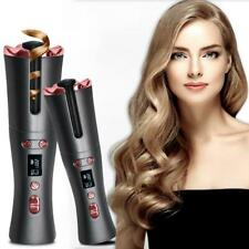 Cordless Automatic Hair Curler Portable Wireless USB Curling Iron Ceramic Curler