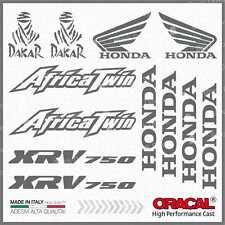 12x Kit HONDA Africa Twin XRV 750 Grey ADESIVI PEGATINA STICKERS AUTOCOLLANT