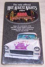 Hot August Nights 1998 VHS Video Reno Nevada Classic Car Parade NEW SEALED
