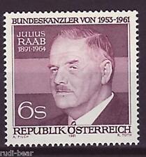Österreich Nr. 1690 **  Julius Raab