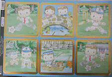 Kanban Paper Craft Toppers Patchwork Pals Playtime Die-cuts