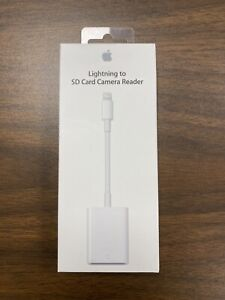 Apple MJYT2AM/A Genuine OEM Lightning to SD Card Camera Reader A1441 Sealed