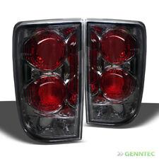 For Smoked 95-04 Chevy Blazer/GMC Jimmy Tail Lights Smoke Lamp Rear Brake Pair
