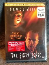 The Sixth Sense Dvd - 2000 - Collectors Edition/Widescreen - New - Free Shipping