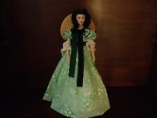 SCARLET O'HARA DOLL [GONE WITH THE WIND] FRANKLIN HEIRLOOM DOLLS