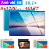 "10.1"" 4g-lte Android 9.0 2.5d HD screen 8+128g dual SIM calling PC tablet New"
