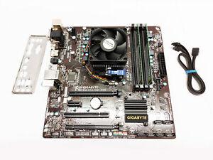 Gigabyte GA-F2A78M-D3H FM2+ MOTHERBOARD, CPU AMD A8-6600K, 4GB Bundle