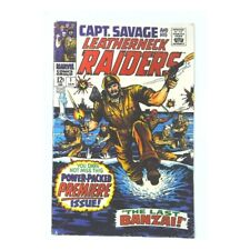 Captain Savage and His Leatherneck Raiders #1 in F + cond. Marvel comics [*4y]