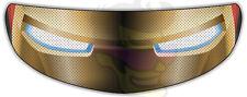 Iron Man Helmet Visor Sticker Motorcycle Superhero Shield Decal Tint Eyes NEW