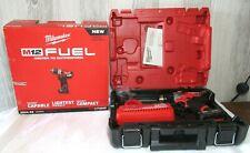 "Milwaukee M12 FUEL 2504-20 1/2"" Brushless Hammer Drill/Driver Kit"