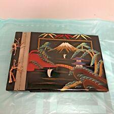 Vintage Laquered Japanese Photo/Scrap Book Album Never Used