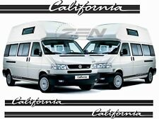 VW T4 California side Stripes or T5 Decals Stickers any colour westfalia camper
