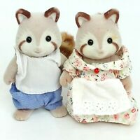 Sylvanian Families Raccoon figure toy doll figurine