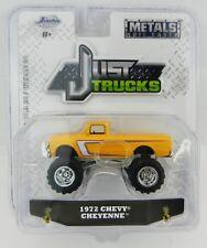 1:64 JADA TOYS *JUST TRUCKS 20* Yellow 1972 Chevrolet Cheyenne C10 Pickup *NIP*