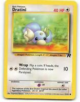 Pokemon Dratini 53//82 Team Rocket Common Card Mint