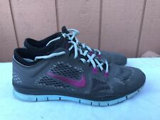 Nike Free 5.0 TR FIT 4 Size US 10 Dark Base Grey Women's Shoes 629496-004 A2