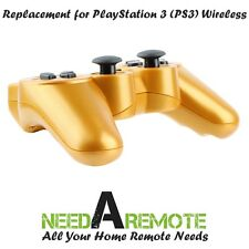 Gold Wireless Bluetooth Game Controller Pad For Sony PS3 Playstation 3 P3