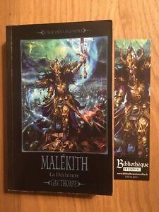 "Roman ""Malékith"", la Déchirure, Gav Thorpe, Warhammer Battle."