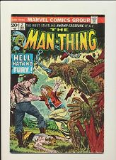 Man-Thing #2! (Marvel Comics Feb 1974)! SEE SCANS! KEY BRONZE AGE BOOK! WOW!