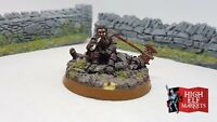 Gimli on Dead Uruk-hai - Lord of the Rings Warhammer Pelennor Well Painted