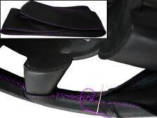 Para Vw Transporter T5 mejor calidad de cuero cubierta del volante púrpura Costura