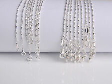 10PCS Wholesale 26inch Jewelry Lot 60% Silver STAR Chain Necklace For Pendant