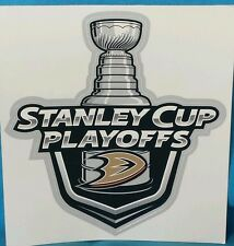 Anaheim Ducks Stanley Cup Playoffs Decal Sticker
