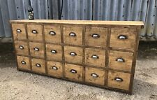 Industrial Up-Cycled Apothecary Chest