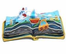 beiens Quiet Books 9 kinds Vehicle Identify Skill Boys and Girls, Ultra Soft ...