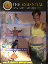 Food Lovers Fat Loss System - The Essential 12 Minute Workouts Dvd New Sealed
