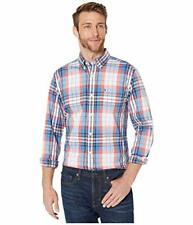 Tommy Hilfiger Men's Long Sleeve Button Down Oxford Shirt (Multicolor, XL)