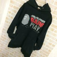 A BATHING APE BAPE PLAY Hoodie Size M Early Product Vintage Rare