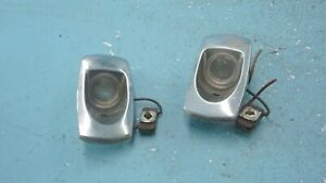 MERCEDES  W108  W109  ,  REAR  SIDES  DOME LIGHTS PAIR  ,  OEM ,