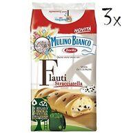 24x Mulino Bianco Kuchen mit stracciatella Flauti 35 g kekse schoko riegel snack