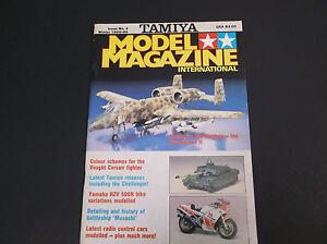 VINTAGE WINTER 1985-86  TAMIYA MODEL INTERNATIONAL MAGAZINE *VG-COND*