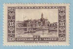 ALGERIA B16 SEMI-POSTAL  MINT LIGHTLY HINGED OG * NO FAULTS EXTRA FINE!