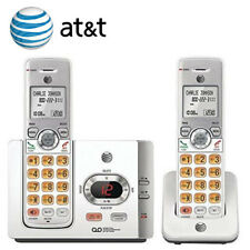AT&T 2 Cordless Handset Phone System Answering Machine Caller ID Waiting EL52215