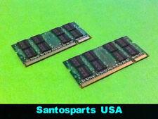 4GB (2x2GB) DDR2 PC2 6400S 800Mhz Gateway NV52 NV53 NV54 NV56 NV58 Memory RAM