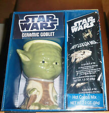 Star Wars Collectable Yoda Ceramic Goblet With Hot Cocoa Mix