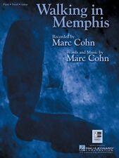Walking in Memphis Sheet Music Piano Vocal Marc Cohn NEW 000352542