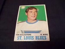 1970-71 Topps #102 Tim Ecclestone Blues - ex++/exmt-